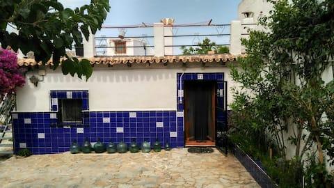Casa rural i Galifa, der er viral rengøring ved Ozone