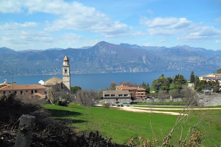 Casa Vacanza San zeno mit See Blick - San Zeno di Montagna - Talo