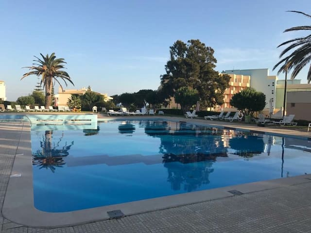 Apartment, next to the beach with swimming pool