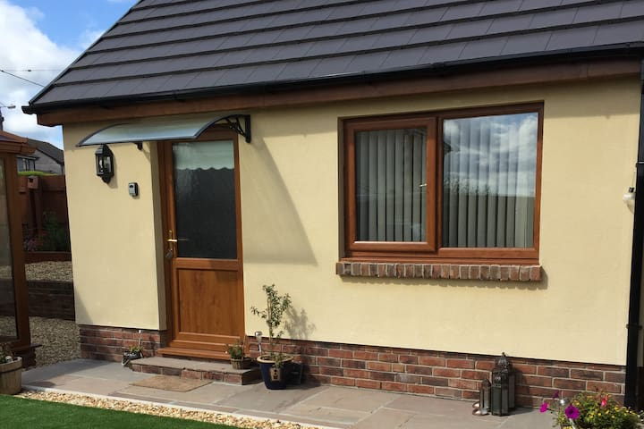 Garden Room situated in the Heart of Wales.