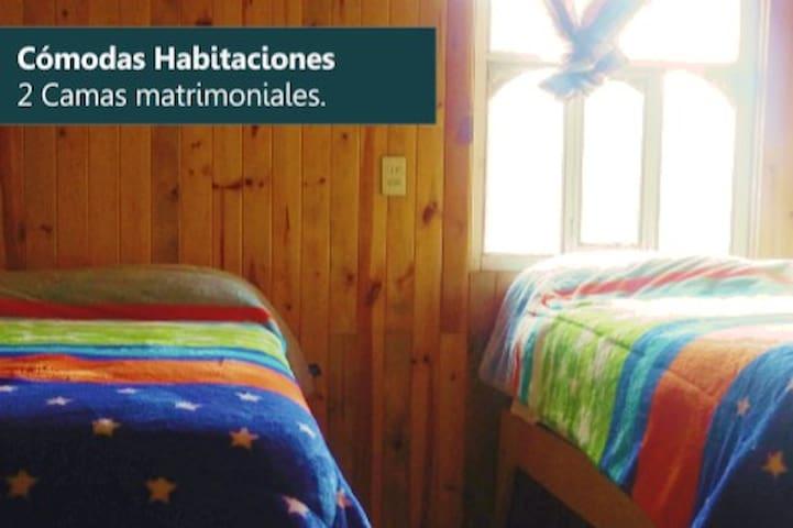 AVENTURA EN MEXIQUILLO, HAB.7 CLÁSICA TIPO CABAÑA