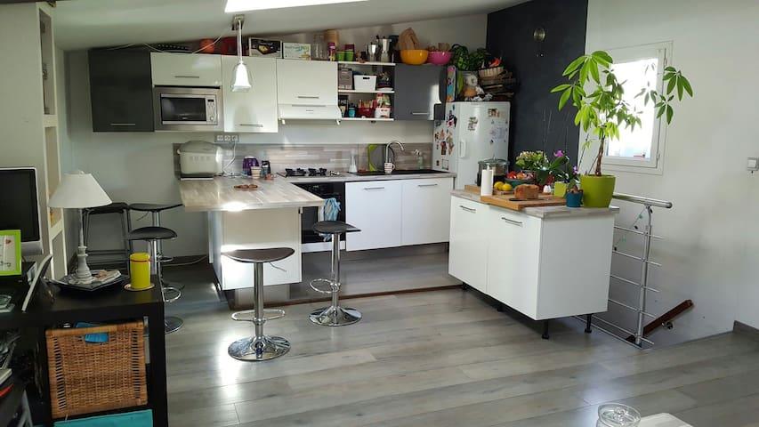 Entre Avignon /Le Ventoux+petit dej - Carpentras - บ้าน