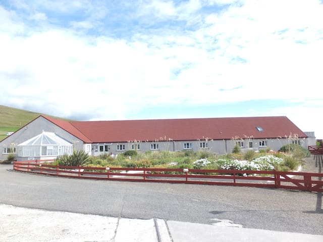 Orkneylodge on the beautiful Scapa Flow