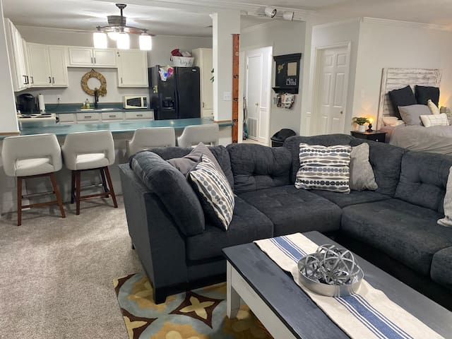 LARGE PRIVATE LOWER LEVEL SUITE W POOL-TALLAHASSEE