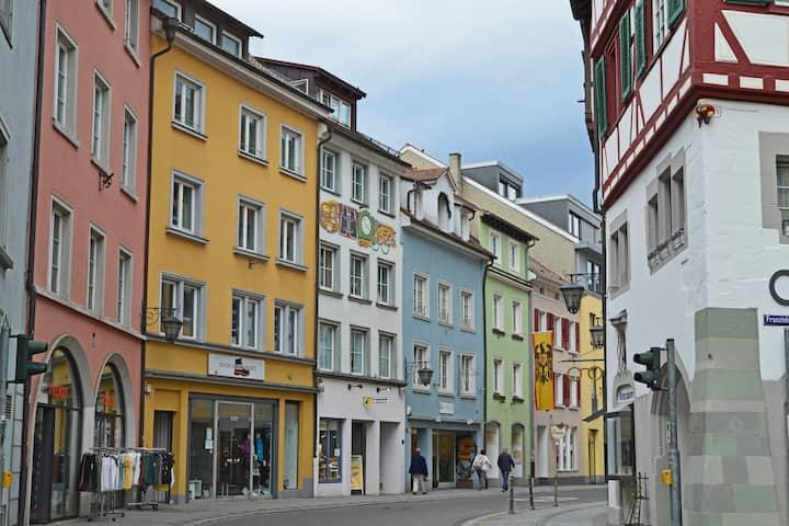 Über den Dächern der Überlinger Altstadt