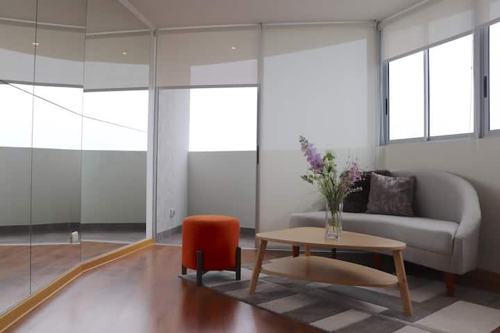 High rise luxury apartment near San Isidro