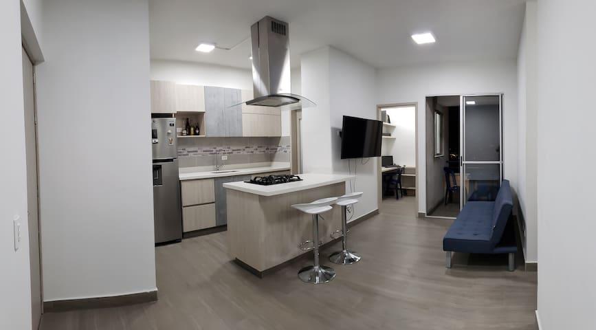 Habitación, en el sector más exclusivo de Bello