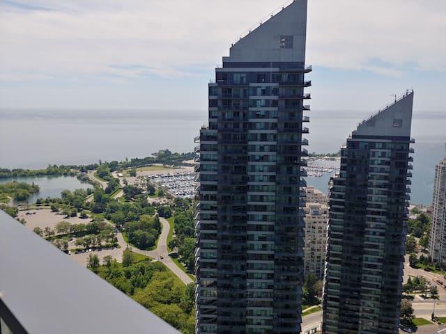 Toronto lake view condo