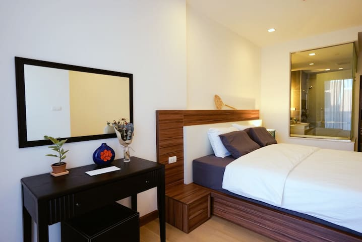1 Bd. in the Luxury condo 5min to Night Bazzar - Thesaban Nakhon Chiang Mai - Huoneisto