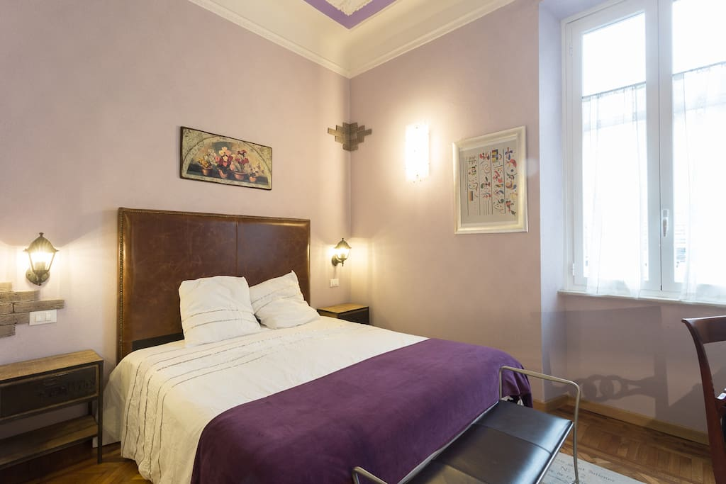 ... a cosy space to call home in Rome...