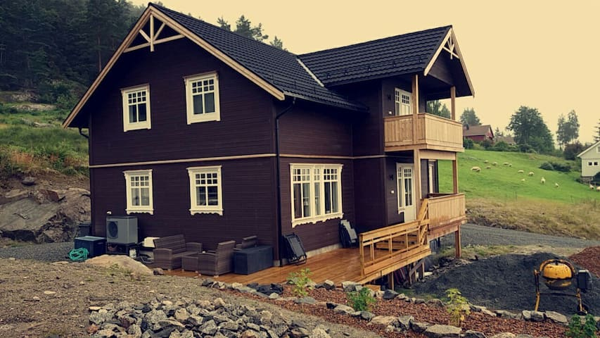 New home near the fjord - Suldal - Hus
