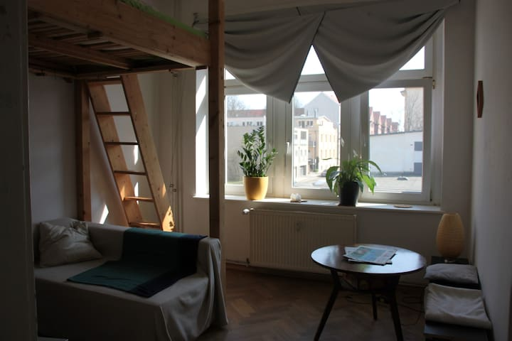 Cozy apartment ideally situated (Südvorstadt) - Leipzig - Apartamento