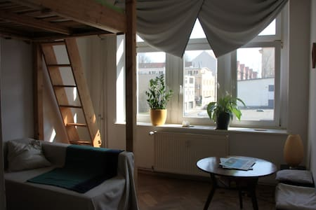 Cozy apartment ideally situated (Südvorstadt) - ライプツィヒ - アパート
