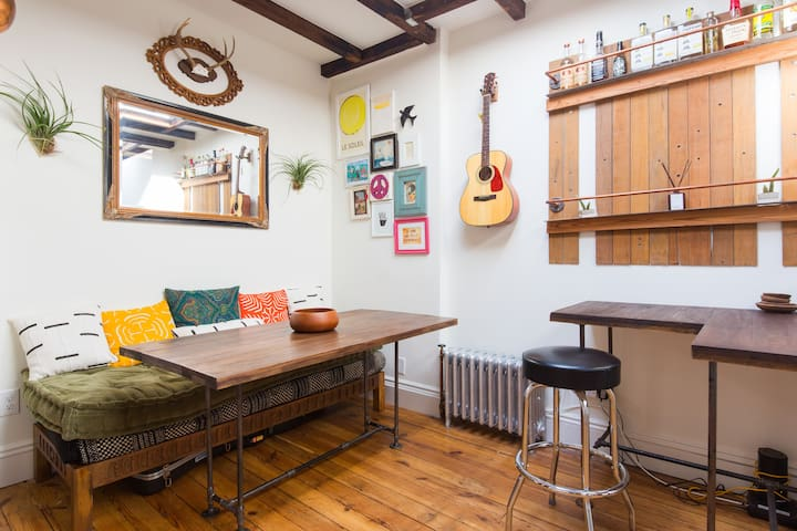 Peaceful home in Bedstuy