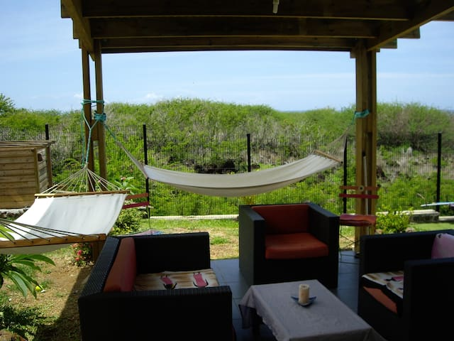La terrasse, coin détente