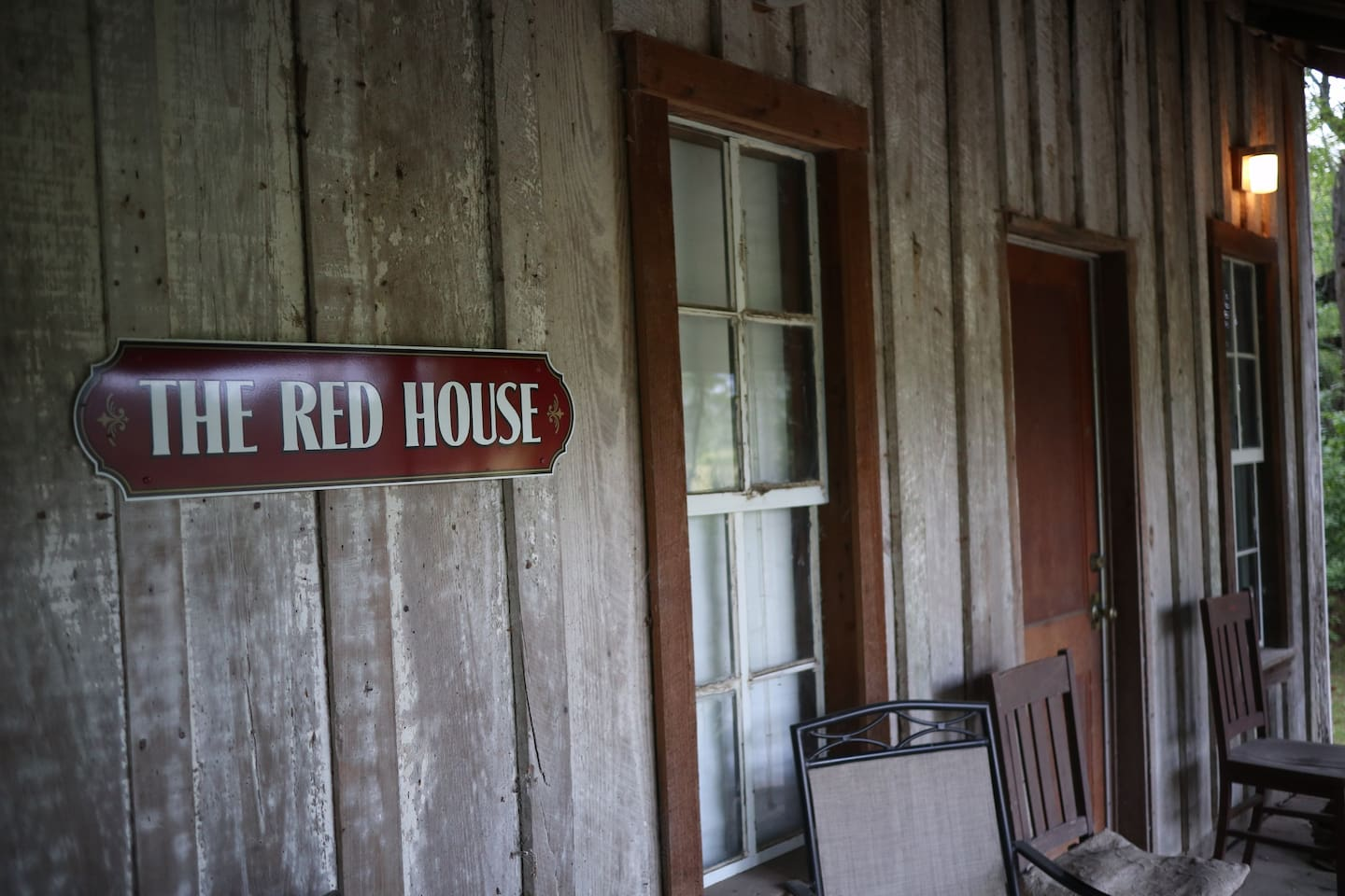 "Never visited ""The White House""? Visit The Red House, a charming farmhouse originally built for tenant farmers."