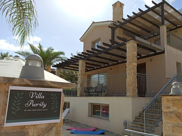 BF Limni Sandy Beach - Villa Purity