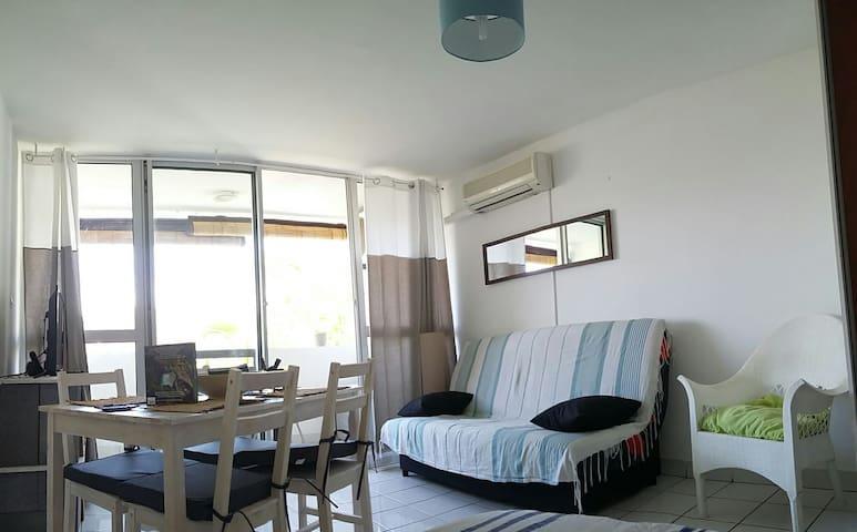 Charmant studio-plage et commodités 300m - Boucan Canot - Appartement