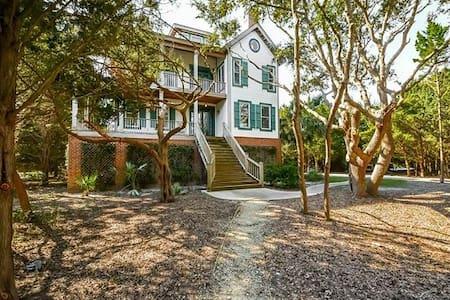Cedar Lodge in Debordieu Colony - Georgetown - Huis