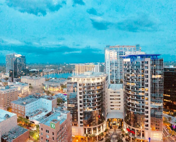Fantastic stay in the heart of Downtown Orlando