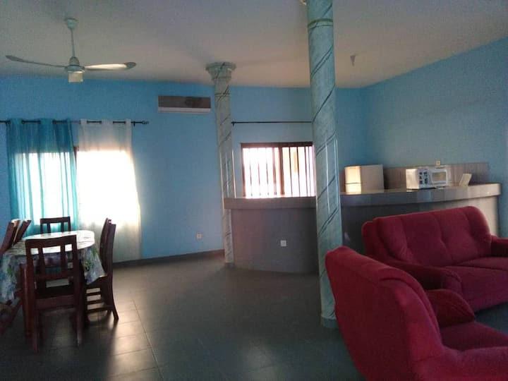 Maison bleue Tokpota2 Davo