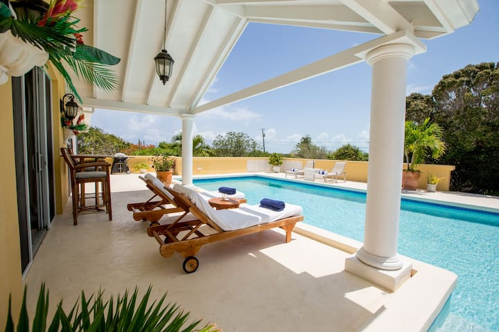 Ocean Views Luxury Villa. Open concept, large pool