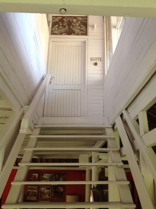 Escalier privé