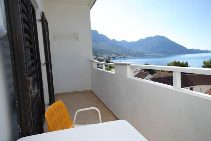One bedroom apartment with balcony and sea view Podaca, Makarska (A-6735-b)