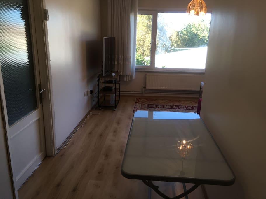 New style with table, also has chairs