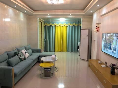 嘟嘟公寓(新余香博丽景北欧公寓)91平米2居室
