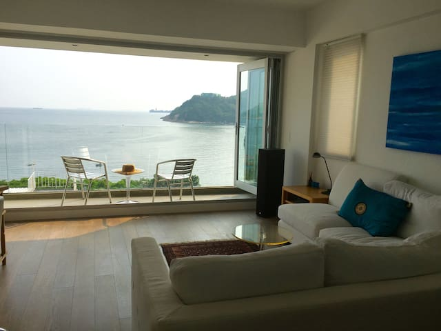 Front room sea view.