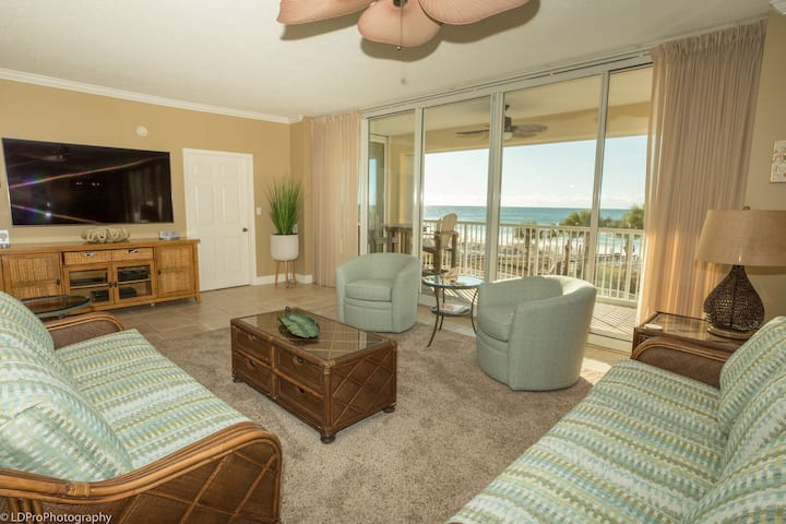 Oceania 205 - 3 BR Gulf Front - Recently Redecorated