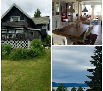 Central, charming and quiet - with sea view - Oslo - Villa - 2