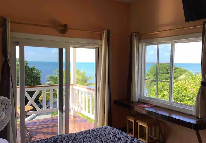 From Hummingbird House's bedroom!  2:30, October 21, 2019!