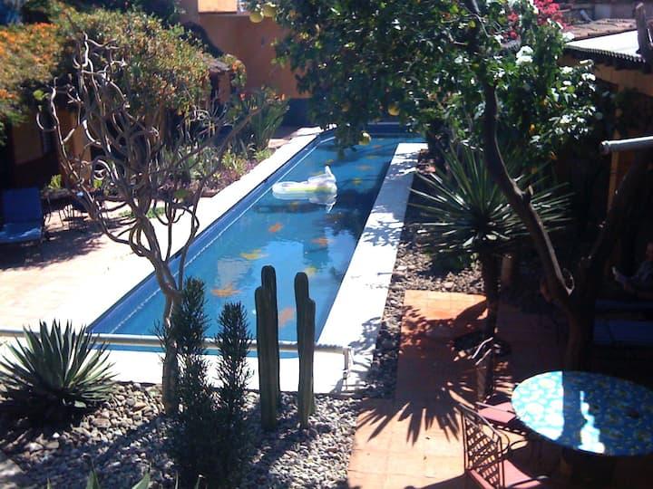 Urban Oasis: Villa in Oaxaca's Historic Center