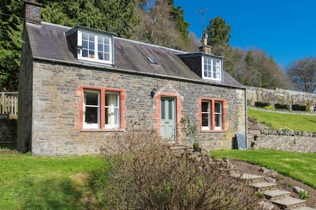 Garden Cottage, Yair Estate - Galashiels - Haus