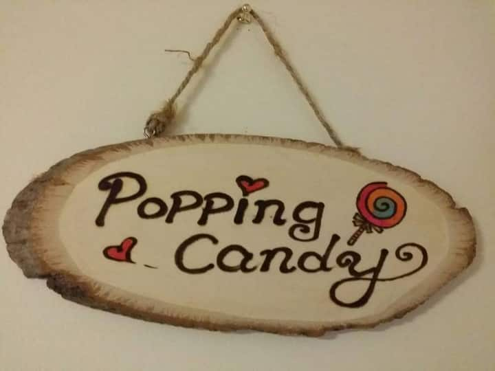 "7. ""Popping Candy""  Bright Sunny Cosy Room"