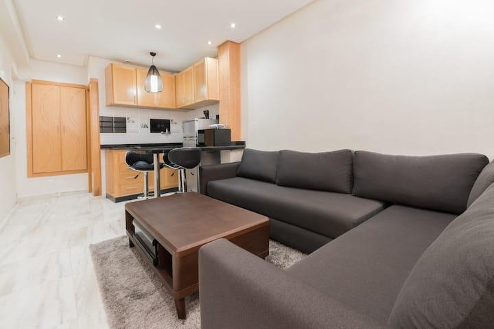 Appartement chic, moderne et pratique