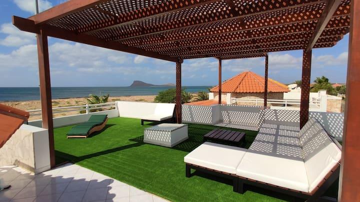 Villa Mary-Anne  en Murdeira, primera línea de mar