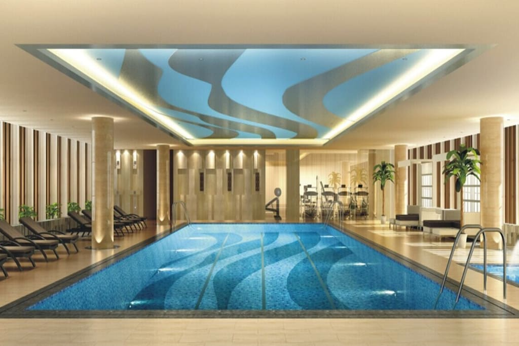 公寓5楼是付费的恒温游泳池 如需使用需提前预约