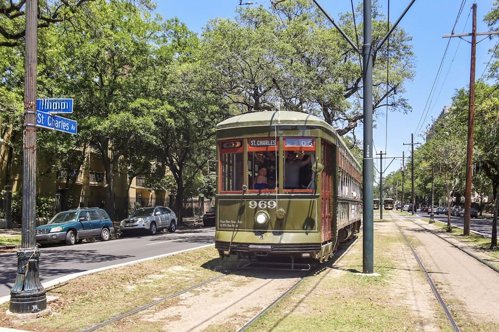 St.Charles Streetcar line!