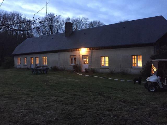 Le cottage d'Angerval - Ancretteville-sur-Mer - House