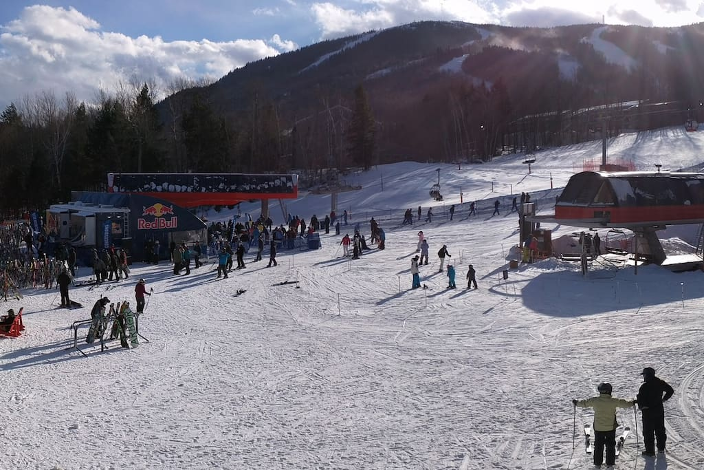 View from deck - In the middle of all the activity Sunday River offers.