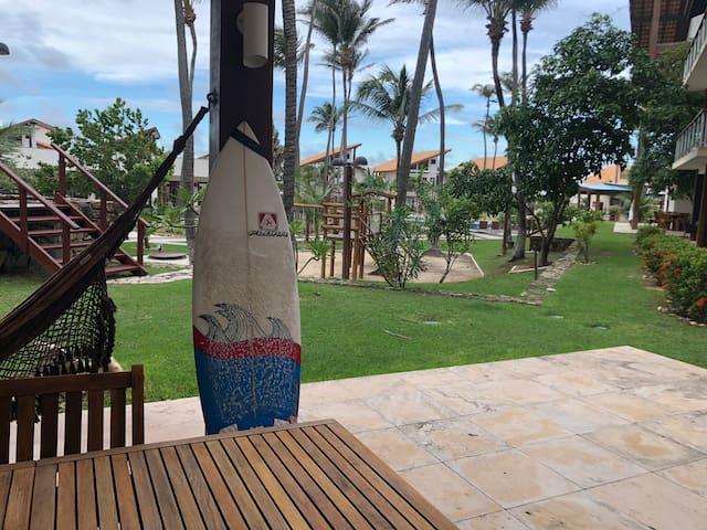 Ap Taíba Beach Resort- Kite e surf 3 suítes terreo
