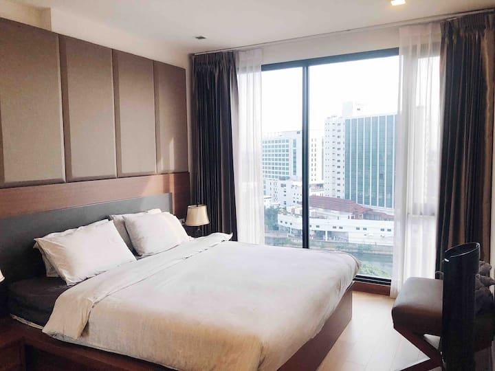 Cozy room 73 Sq.m (2BR) @ the Astra night bazaar