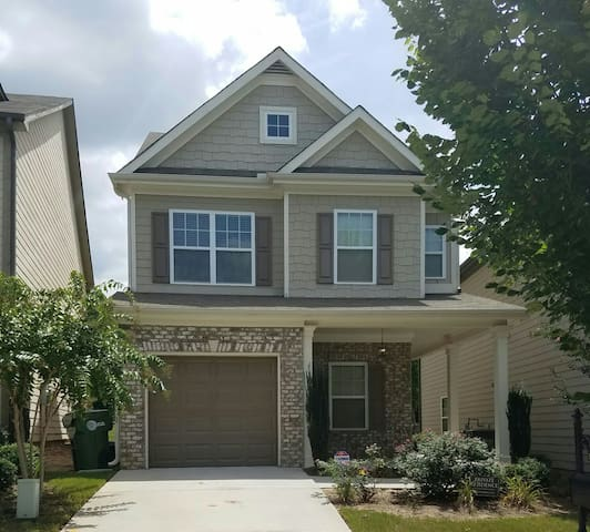 2 Bdrms in 3bd house in W. Midtown House w a park! - Atlanta - Casa