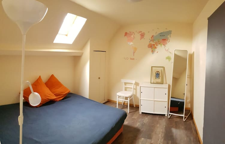 Cosy room 20 mn from  Epernay + breakfast