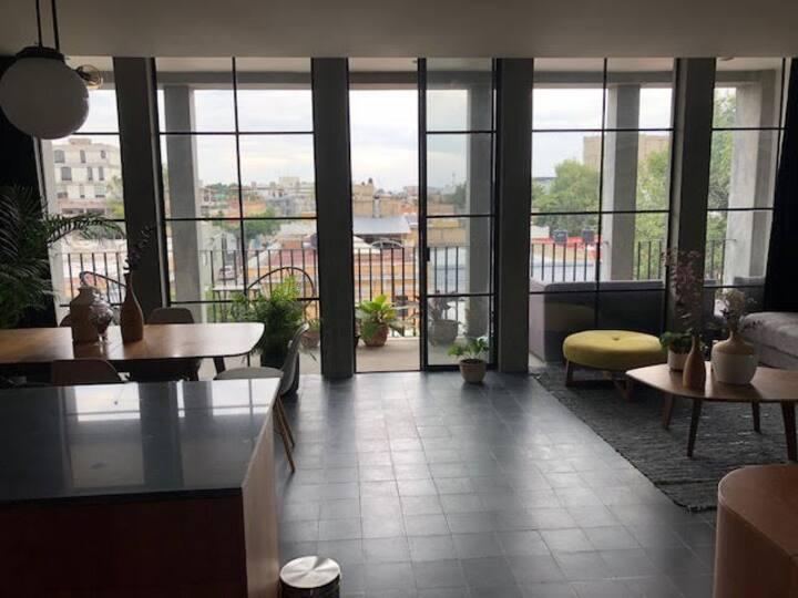 Loft en ultimo piso con terrasa privada