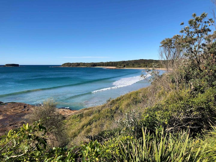 Rustic Surf Shack at Beautiful South Durras