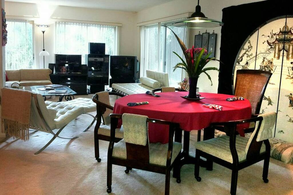 WELCOME to your own Private Great Room!  It's ALL your's for enjoyment any time of day...